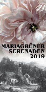 Flyer Mariagrüner Serenaden 2019