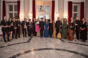 MusikerInnen und SängerInnen des Fachbereichs Alte Musik am JJF Konservatorium