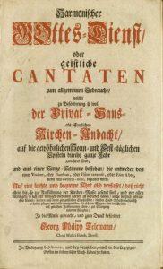 Titelseite: Harmonischer Gottesdienst